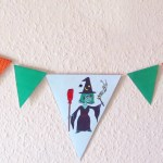Printable bunting to decorate at Halloween