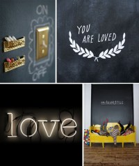blackboard walls and chalkboards for kids | Room to Bloom