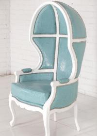 www.roomservicestore.com - Balloon Chair in Aqua Croc