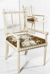www.roomservicestore.com - Acapulco Cowhide Dining Chair