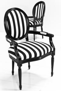 www.roomservicestore.com - Louis Dining Arm Chair in Black ...