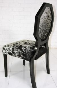 www.roomservicestore.com - Cowhide Octagon Dining Chair