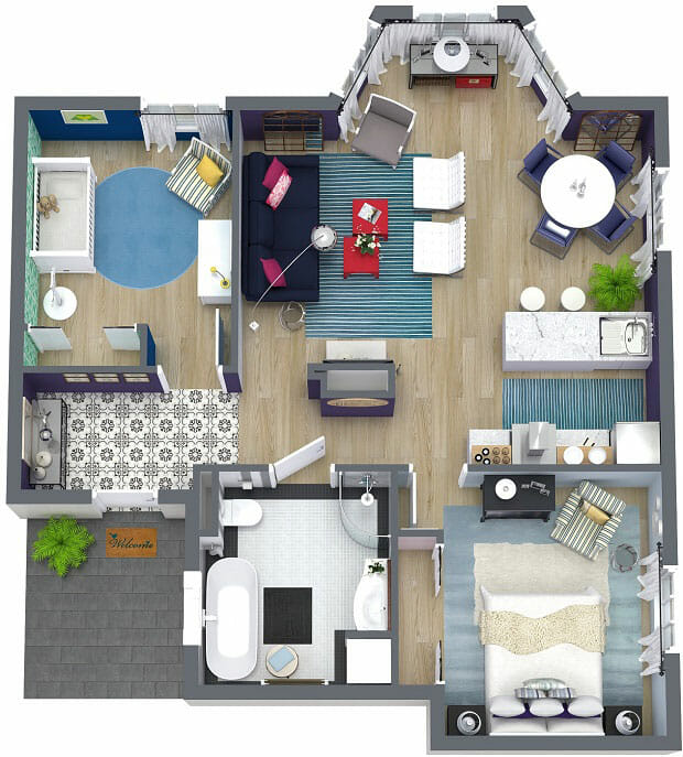 Create 3D Interior Design Presentations That u201cWowu201d Clients - 3d home design online