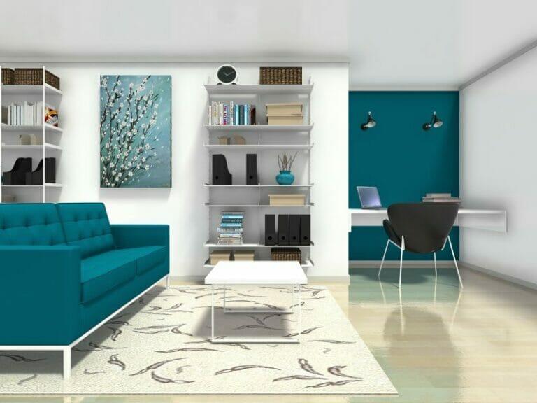 Fair 10+ Office Living Room Ideas Inspiration Design Of Best 25+ - desk in living room