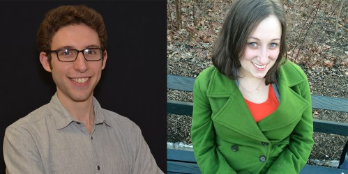 Andrew Marcus '14 and Emily Apple '14