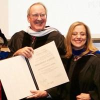 From left: President Jennifer J. Raab, Professor Judith Friedlander, Jonathan F. Fanton, Roosevelt House COO Fay Rosenfeld, Provost Vita Rabinowitz