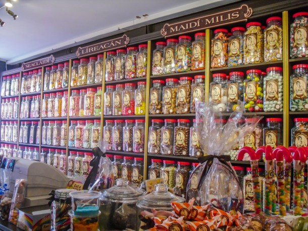 Galway Candy Shop | Roots and Wings Family Travel