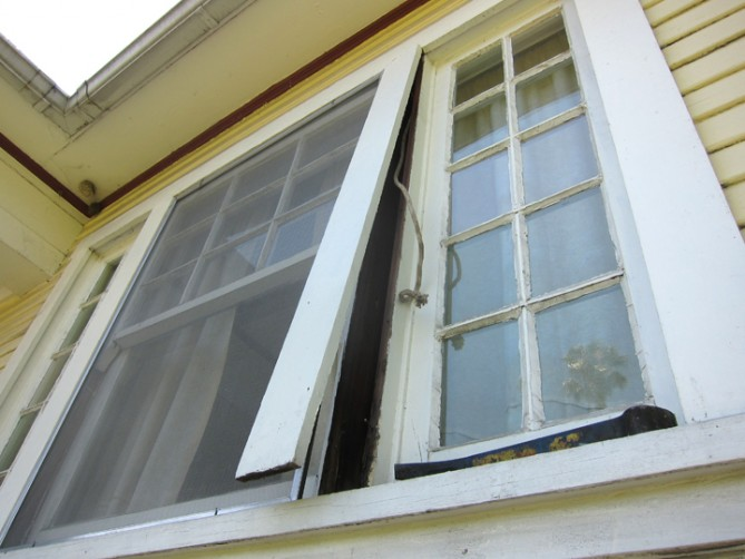 how to repair old windows with weights
