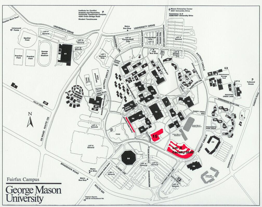 George Mason Campus Map - Auto Electrical Wiring Diagram