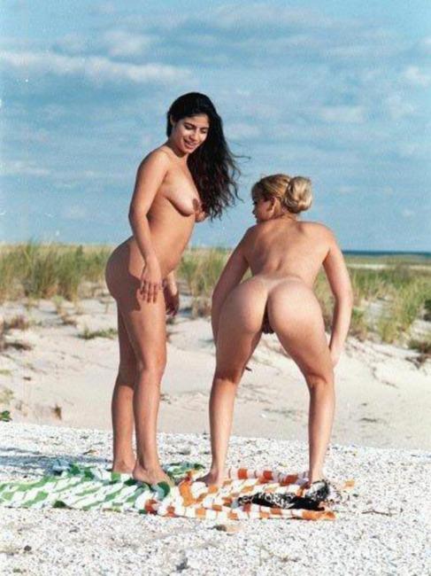 doctor inspecting nude women