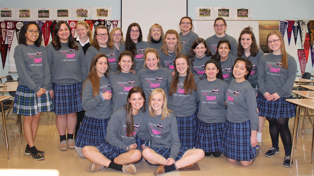 Rosary High School - Rosary Yearbook Selected as National Sample - sample yearbook
