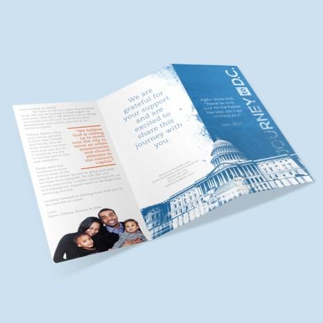 Brochure - Journey to D.C. (front)