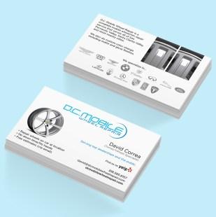 Business Cards - D.C. Mobile Wheel Repair