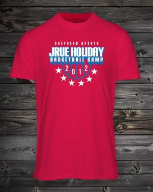 Shirt - Jrue Holiday Basketball Camp ('12)