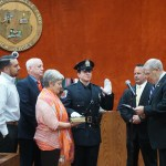 Roselle Park Swears In Patrolman Jeffrey Smith