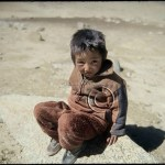 Himalayan people: Tibetan boy
