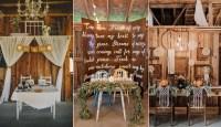 Top 20 Sweetheart Table Decor Ideas for Barn Weddings ...
