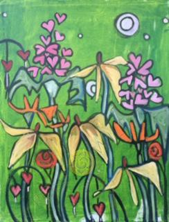 Green Garden 16x20