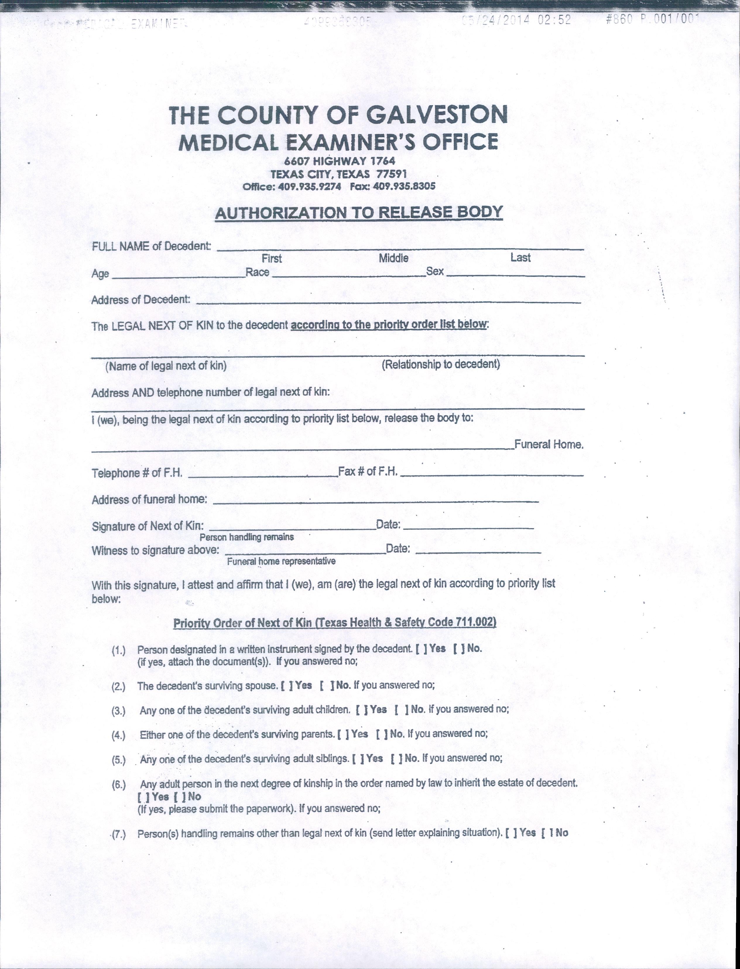 Release Form In Spanish | Proper Resume Format Pdf