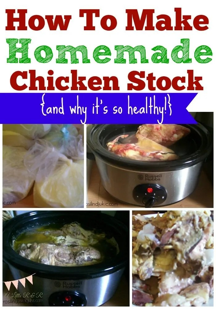 Making your own chicken stock is so easy and the health benefits are immeasurable. You'll stop buying cans when you learn this simple method to make homemade chicken stock!