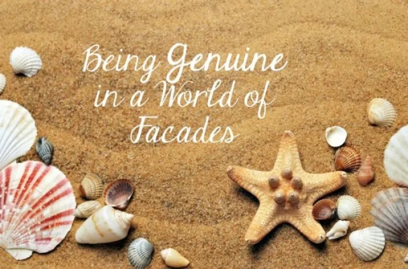 Bering genuine in a world of Instagram and Pinterest facades is not easy, It takes determination, but the rewards of authenticity are endless.