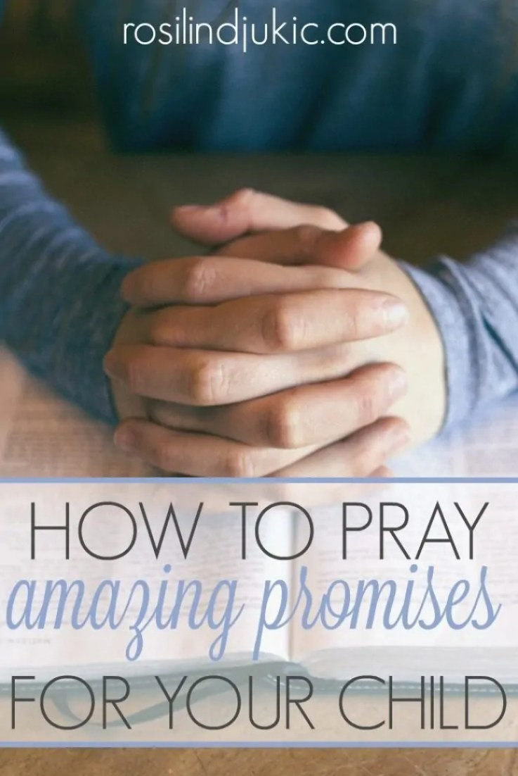Join thousands of mothers all over the world in praying amazing promises for their children! Click here for more details!