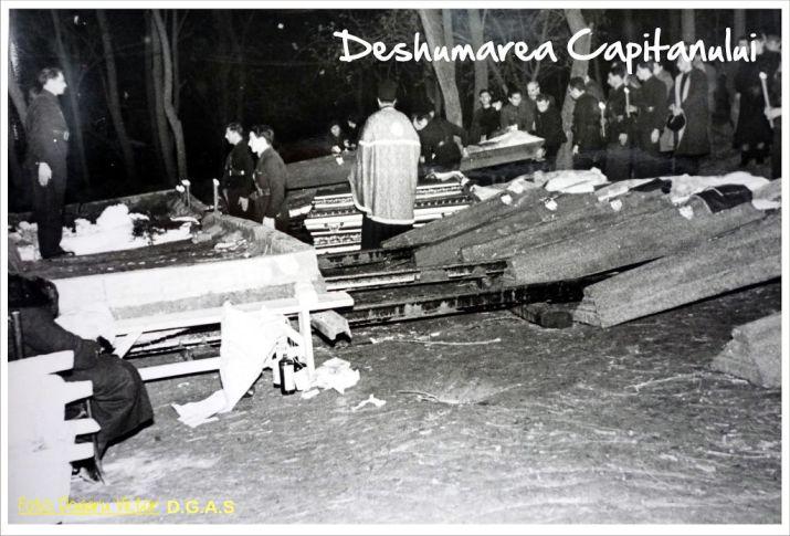 deshumarea Capitanului