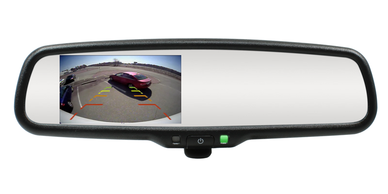 Tailgate backup camera systems for 2005-2014 Toyota Tacoma
