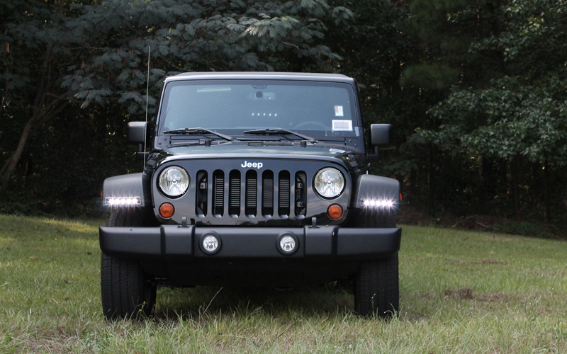 Jeep Wrangler LED Daytime Running Light System Now Available!