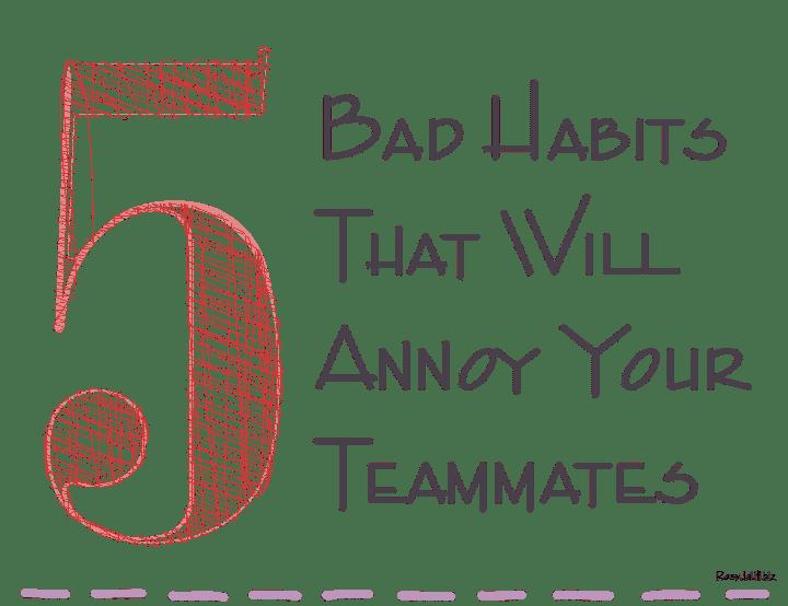 how to avoid bad habits pdf