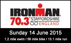 Image of Staffordshire Half Ironman Logo - Staffordshire 70.3 for Kobestarr.com