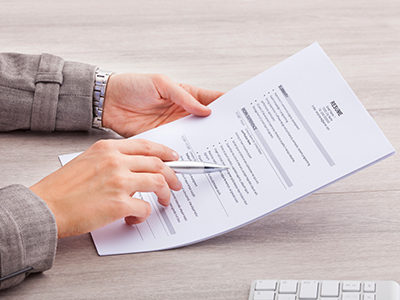 how to build up a resume