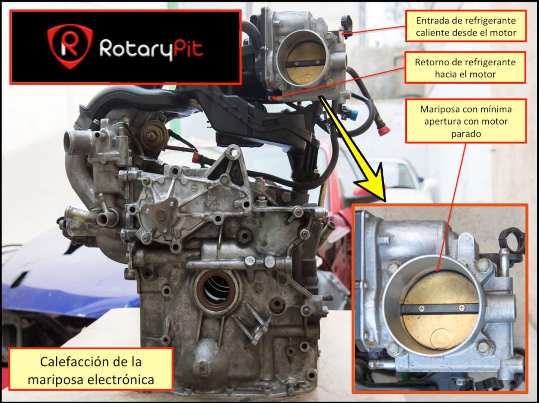 Calefacción mariposa acelerador RX8 jird20 RotaryPit
