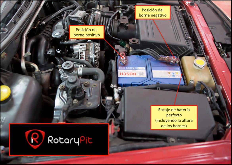 Instalación correcta de batería RX8 jird20 RotaryPit