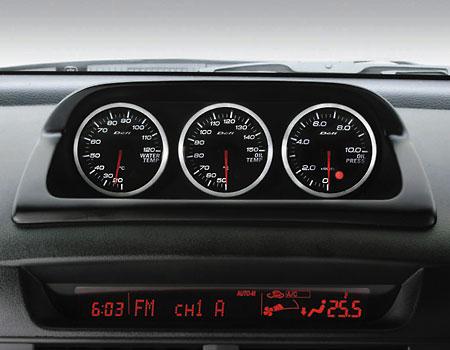 MazdaSpeed gauges by Defi
