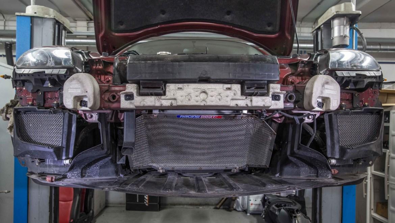 Rejillas de protección de aceite y condensador AC RX8 RotaryPit jird20