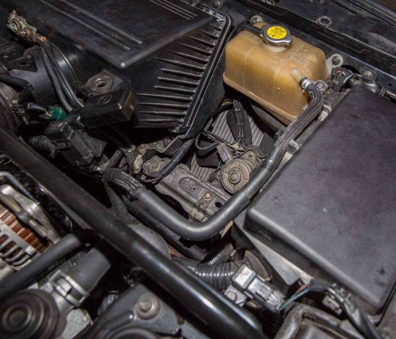 reubicación bateria liberación radiador RX8 jird20 RotaryPit
