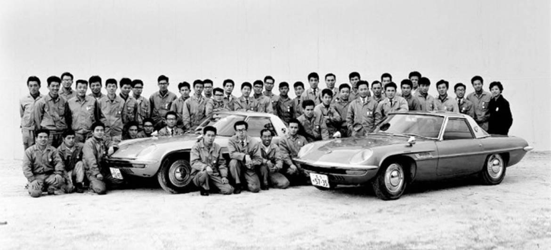 Keichi Yamamoto y los 47 ingenieros rotativos jird20 RotaryPit