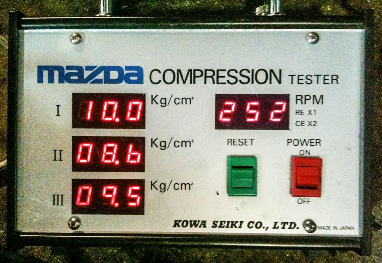 standard compression tester