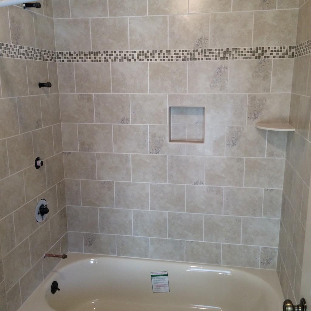 Shower, Tub & Bathroom Tile Ideas
