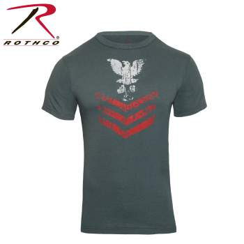 Rothco Vintage \u0027\u0027Naval Rank Insignia\u0027\u0027 T-Shirt