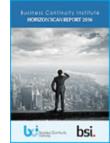 BCI, BSI Horizon Scan 2016: Physical security a growing threat to organizations