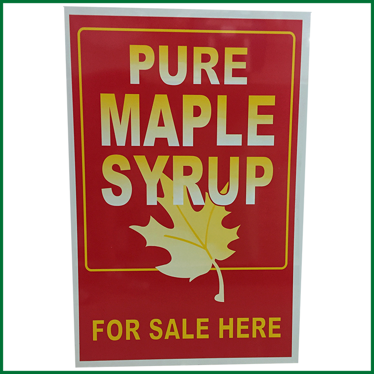 Pure Maple Syrup For Sale Here Sign \u2013 Roth Sugar Bush