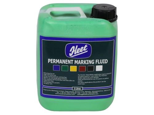 Fleet Permanent Marking Fluid Green