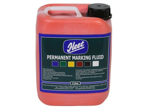 Fleet Permanent Marking Fluid Red