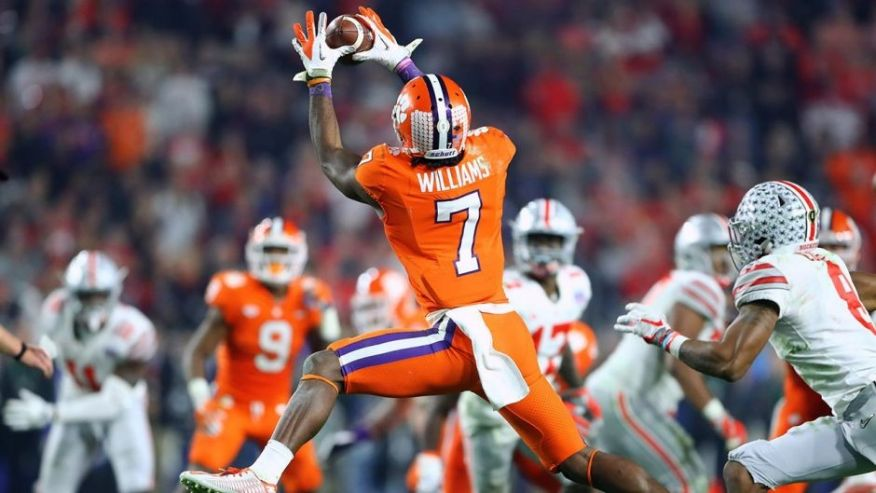 Clemson\u0027s Mike Williams selected by Chargers in 2017 NFL Draft