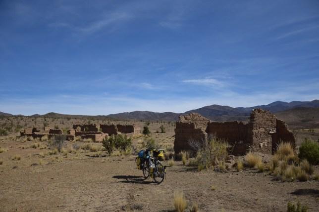 Abandoned stone homes