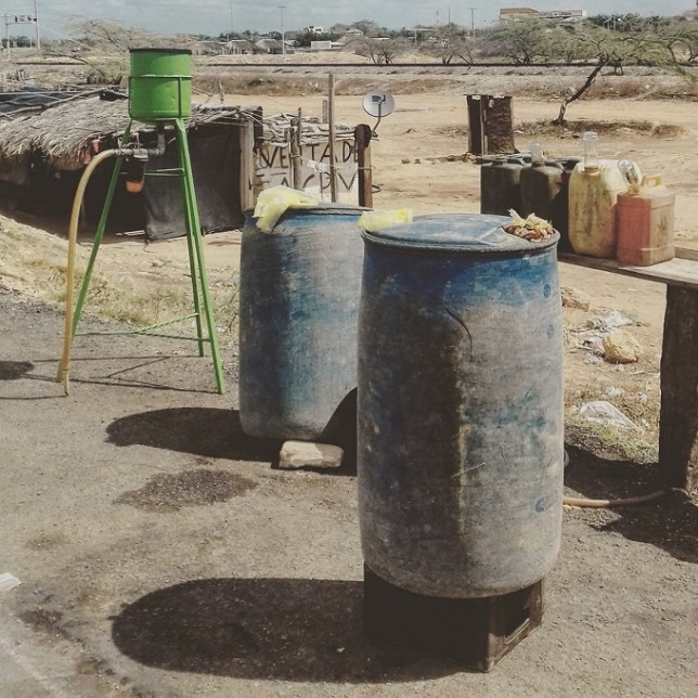 Illegal Venezuelan petrol