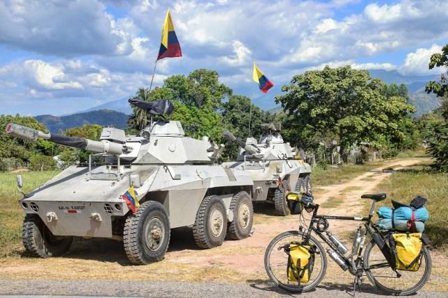 Colombian tanks