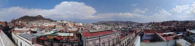 View from my Warmshowers in Zacatecas